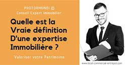 Expertise immobiliere definition